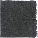 Rick Owens thick wrap scarf