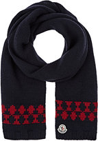Moncler MEN'S FAIR ISLE WOOL SCARF