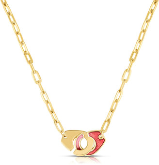 Audrey C. Jewels Extra Large Partners in Crime Double-Sided Necklace
