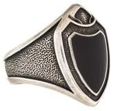 David Yurman Onyx Shield Ring