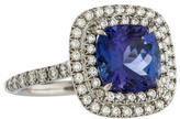 Tiffany & Co. Soleste Tanzanite & Diamond Ring