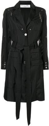 Christian Dior Pre-Owned belted trench coat