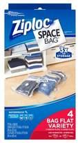 Space Bag Ziploc® 4-pack Dual Use Combo
