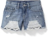Old Navy Denim Cut-Off Shorts for Girls