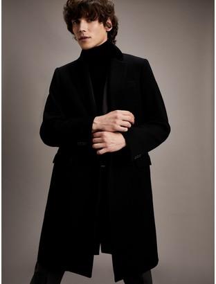 Tommy Hilfiger Velvet Collar Overcoat