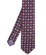 Silk Flower Patterned Tie