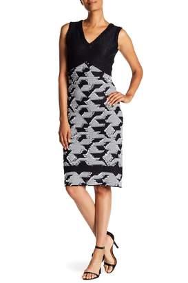 St. John Jaan V-Neck Dress