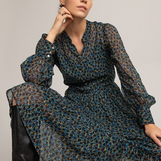 La Redoute Collections Floral Print Midi Dress