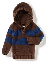 Infant Boy's Peek Granada Hooded Sweater