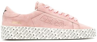 Golden Goose Printed Sole Sneakers