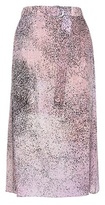 Kenzo Printed Silk Midi Skirt