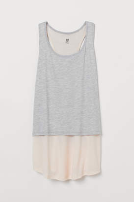 H&M Double-layer Sports Tank Top