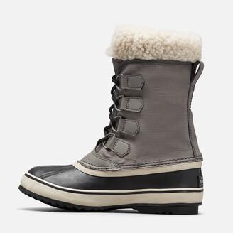 Sorel Women's Winter Carnival Waterproof Nylon Lace Up Boots