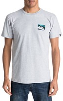Quiksilver Men's Box Knife Graphic T-Shirt