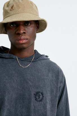 Urban Outfitters Embroidered Jersey Hoodie Sweatshirt