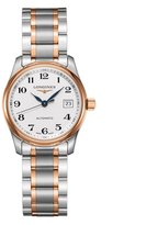 Longines Women's 29mm 18k Rose Gold Steel Bracelet Automatic Watch L22575797