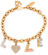 Louis Vuitton 'Love' Charm Bracelet