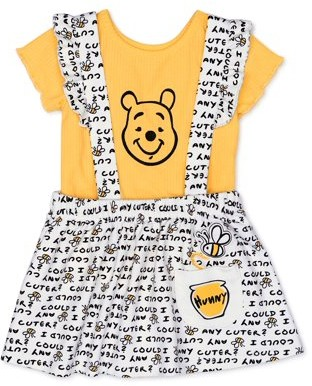 Winnie The Pooh Disney Baby Girl Pinafore