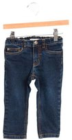 Bonpoint Girls' Mid-Rise Straight-Leg Jeans