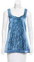 Philosophy di Alberta Ferretti Embellished Sleeveless Top