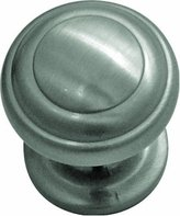 Hickory Hardware P2286-SN 1-Inch Zephyr Knob, Satin Nickel [Tools & Hardware]