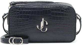 Jimmy Choo Hale leather shoulder bag