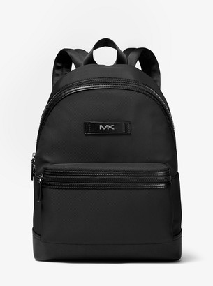 Michael Kors Logo Woven Backpack
