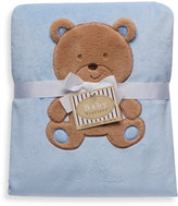 Bed Bath & Beyond Baby Starters™ Cuddly Bear Blanket in Blue