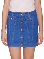Love Moschino Flap Pocket Denim Skirt