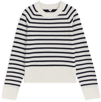 Arket Striped Merino Jumper