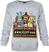 Official Five Nights At Freddy's Part Of The Show Kid's Sweatshirt