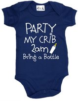 Dirty Fingers, Party, my Crib, 2am...Bring a Bottle, Baby Bodysuit, 0-3m