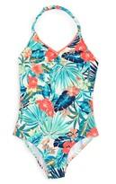 Roxy Girl's Jungle Poem One-Piece Swimsuit
