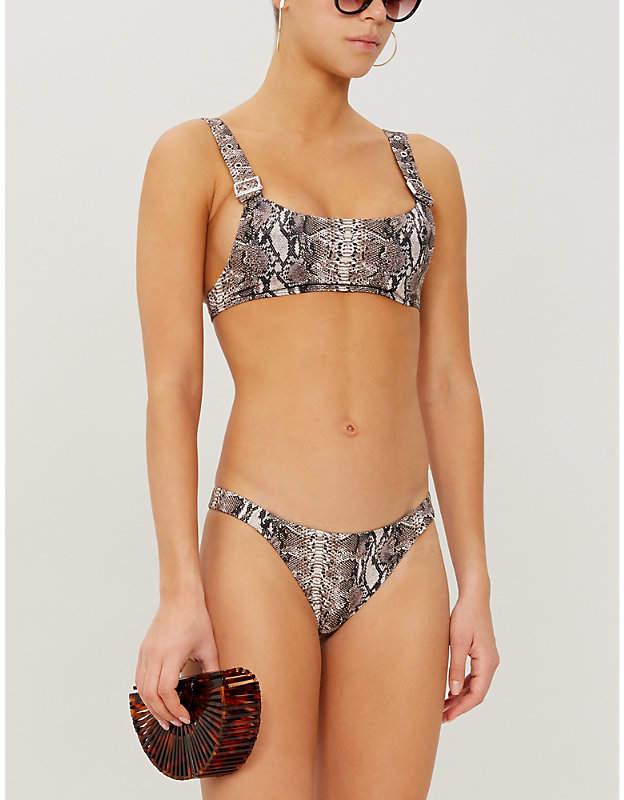 a687a5359 Neck Strap Bikini Top - ShopStyle