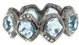 Ippolita Topaz & Diamond Band Ring