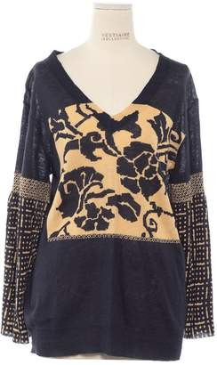 Dries Van Noten \N Navy Wool Knitwear