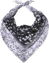 Joe Fresh Women's Floral Scarf, JF Midnight Blue (Size O/S)
