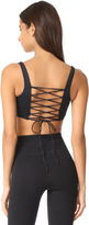 Cosabella Bisou Move Lace Up Back Sports Bra