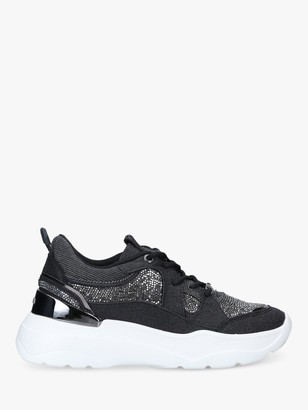 Carvela Louder Chunky Sequin Trainers