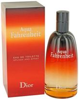Christian Dior Aqua Fahrenheit by Eau De Toilette Spray for Men (4.2 oz)