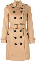 Burberry Sandringham trenchcoat - women - Viscose/Cashmere - 6