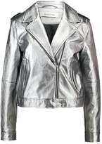 Modstrom BECCA Faux leather jacket silver