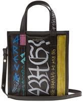 Balenciaga XS Bazar Shopper in Graffiti