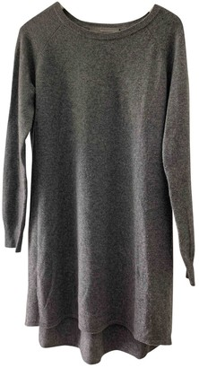 360 Cashmere Grey Cashmere Dress for Women