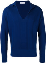 Salvatore Ferragamo knit sweater - men - Silk/Cotton - S