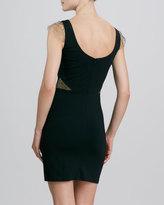 Erin Fetherston ERIN Ponte Lace-Cap-Sleeve Dress