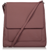 George Faux Leather Cross Body Bag