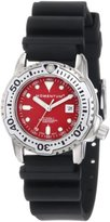 Momentum Women's 1M-DV83R1B Storm II Red Dial Hyper Natural Rubber Watch
