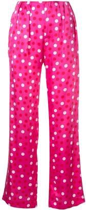 Maggie Marilyn polka dot pattern trousers