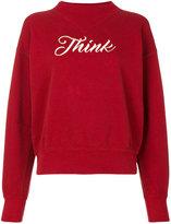 Etoile Isabel Marant Loby sweatshirt - women - Cotton/Polyester/Viscose - 38
